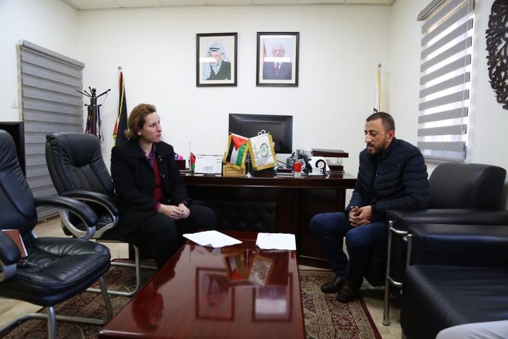 الاتحاد الفلسطيني لكرة القدم وشركة بلو يوقعان اتفاقية تطوير وشراكة تقنية