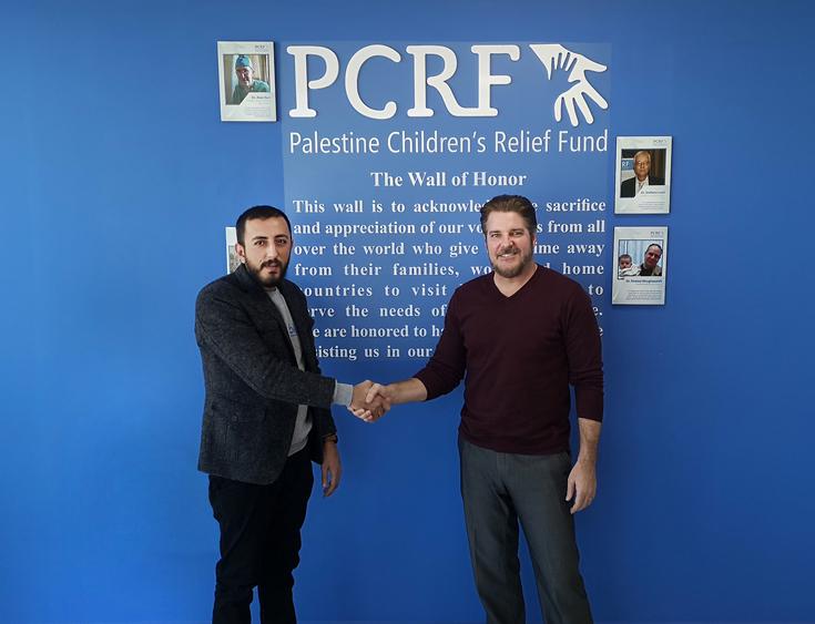 شركة بلو توقع اتفاقية تطوير ودعم فني مع جمعية إغاثة أطفال فلسطين PCRF