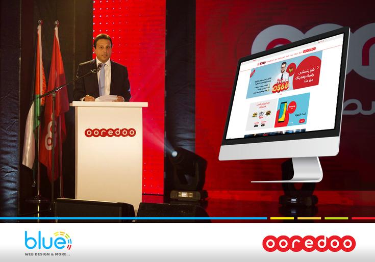شركة Ooredoo تعتمد بلو لتطوير موقعها الإلكتروني في فلسطين